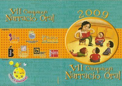 VII Campanya Narració Ora. Bibliotecas de Castellón