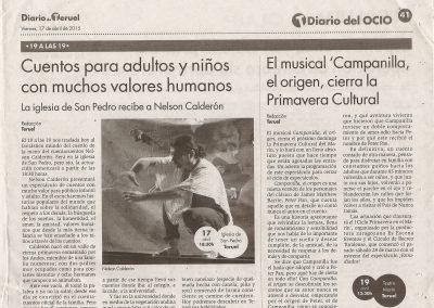 Diario de Teruel. 2015