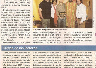 Express News. Madrid. 2007