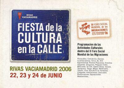 Foro Social Mundial. Rivas Vaciamadrid  2006