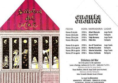 Bibliotecas del Mar. Comunidad Valenciana