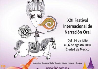 Festival Cuentalee México. 2010