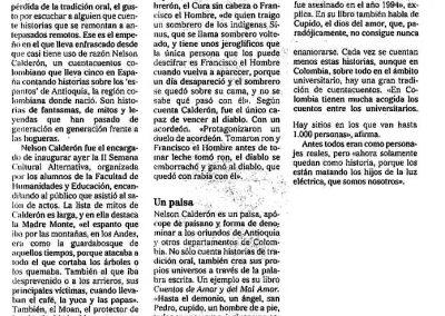 El Correo de Burgos. 2006