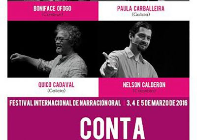 Festival Conta con Narón 2016