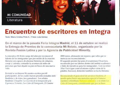Revista Fusión. 2007