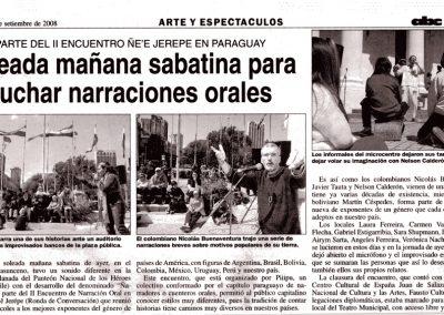 abc color. Paraguay. 2008