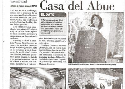 El Popular. Puebla. México. 2010